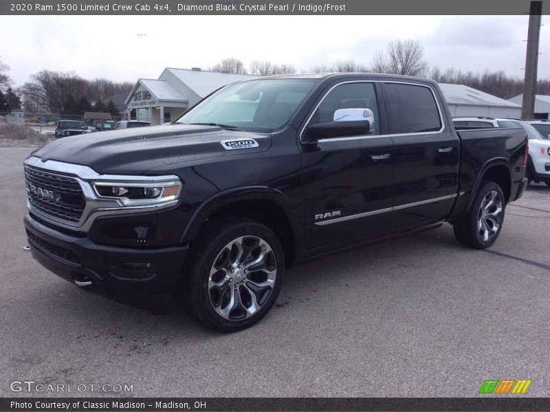 Front 3/4 View of 2020 1500 Limited Crew Cab 4x4