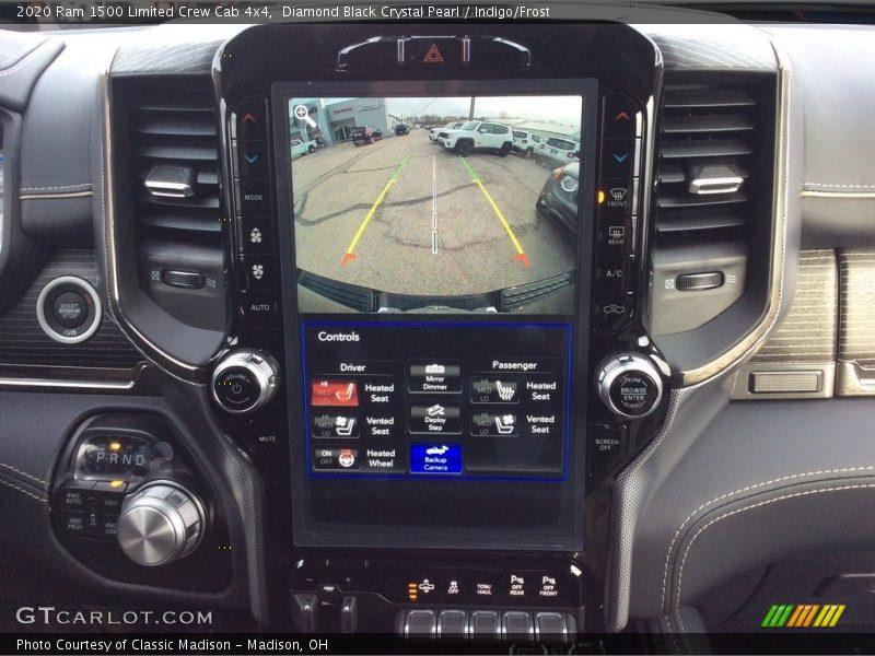 Diamond Black Crystal Pearl / Indigo/Frost 2020 Ram 1500 Limited Crew Cab 4x4