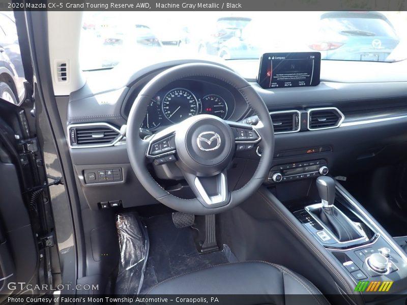 Machine Gray Metallic / Black 2020 Mazda CX-5 Grand Touring Reserve AWD