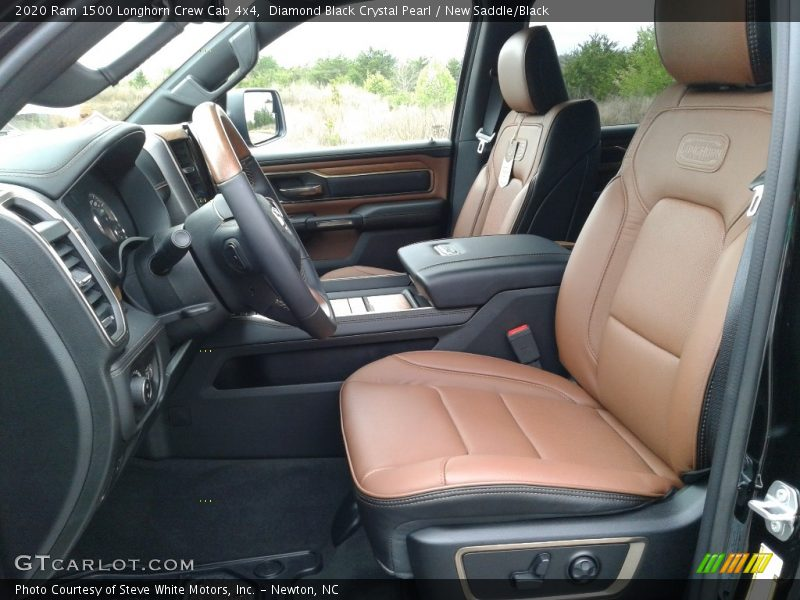 Front Seat of 2020 1500 Longhorn Crew Cab 4x4