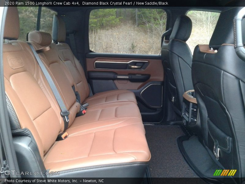 Rear Seat of 2020 1500 Longhorn Crew Cab 4x4