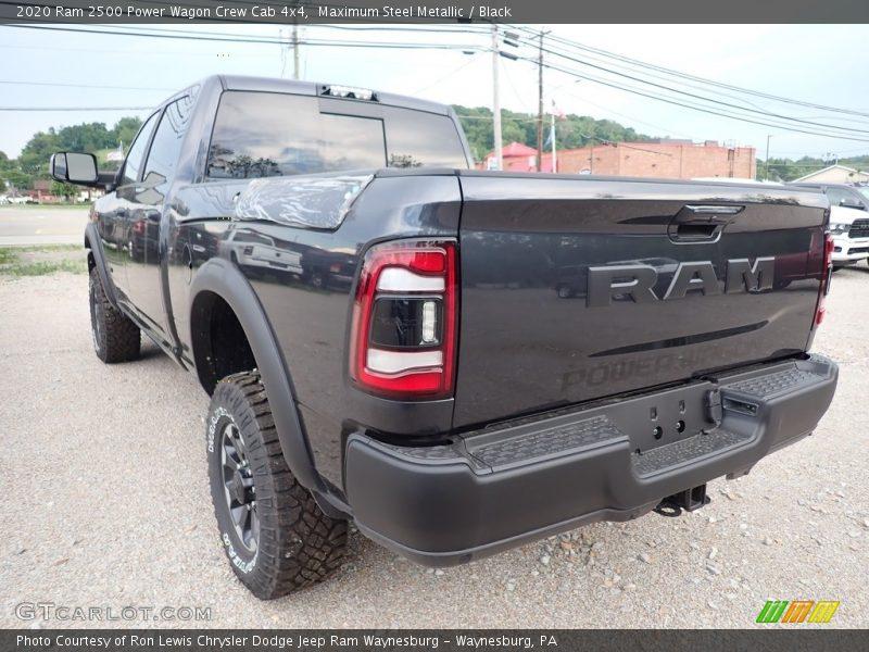 Maximum Steel Metallic / Black 2020 Ram 2500 Power Wagon Crew Cab 4x4