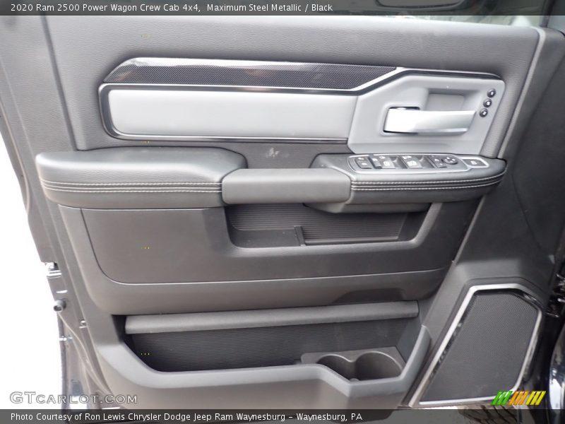 Door Panel of 2020 2500 Power Wagon Crew Cab 4x4