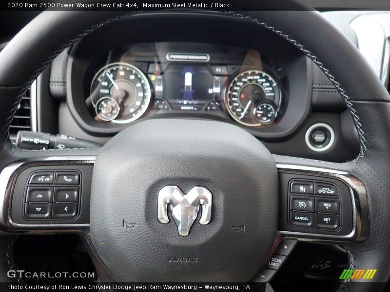 2020 2500 Power Wagon Crew Cab 4x4 Steering Wheel