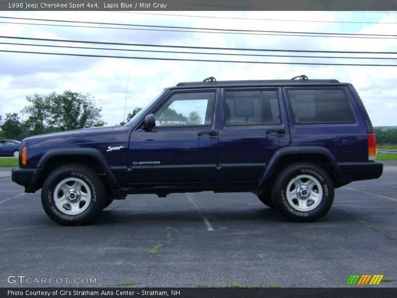 1998 jeep cherokee sport 4x4 in lapis blue photo no 13868192. Cars Review. Best American Auto & Cars Review