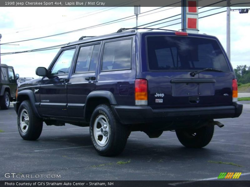 1998 jeep cherokee sport 4x4 in lapis blue photo no 13868197. Cars Review. Best American Auto & Cars Review