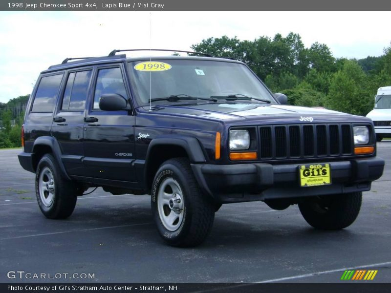 1998 jeep cherokee sport 4x4 in lapis blue photo no 13868227. Cars Review. Best American Auto & Cars Review