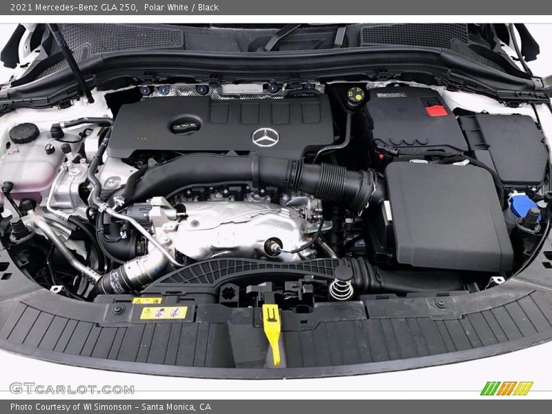 2021 GLA 250 Engine - 2.0 Liter Turbocharged DOHC 16-Valve VVT 4 Cylinder