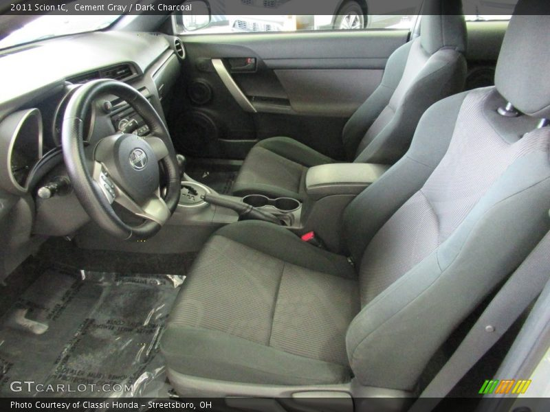 Cement Gray / Dark Charcoal 2011 Scion tC
