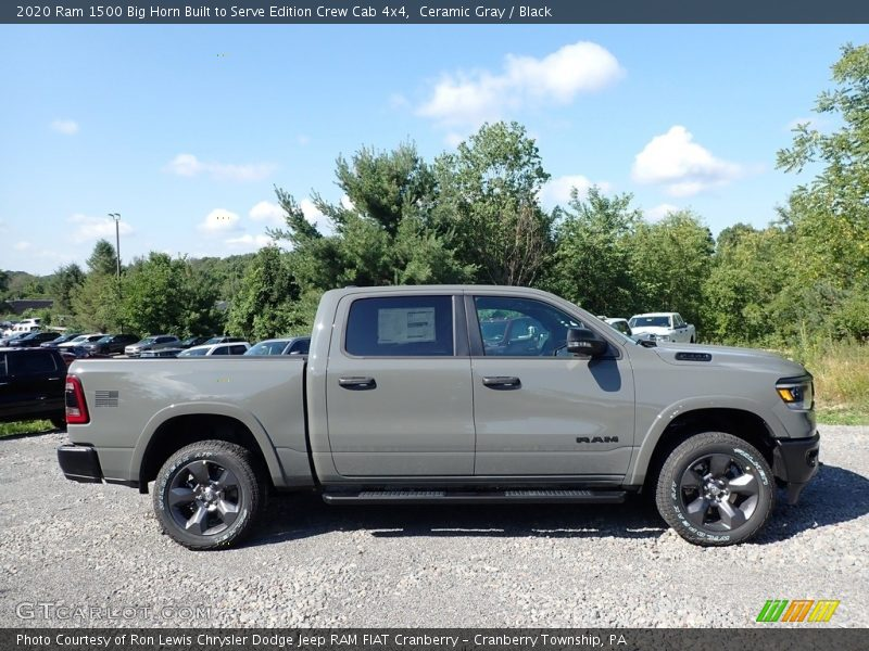 2020 1500 Big Horn Built to Serve Edition Crew Cab 4x4 Ceramic Gray