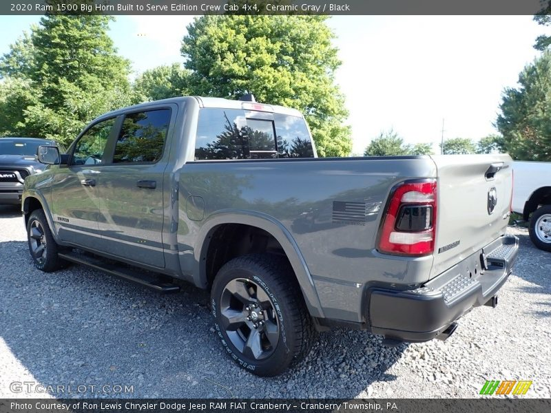 Ceramic Gray / Black 2020 Ram 1500 Big Horn Built to Serve Edition Crew Cab 4x4