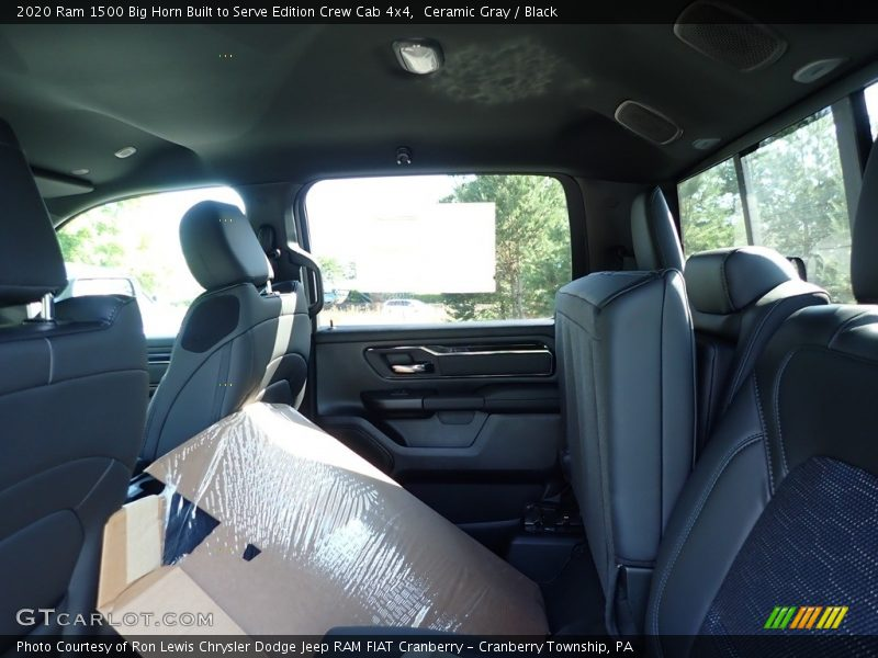 Ceramic Gray / Black 2020 Ram 1500 Big Horn Built to Serve Edition Crew Cab 4x4