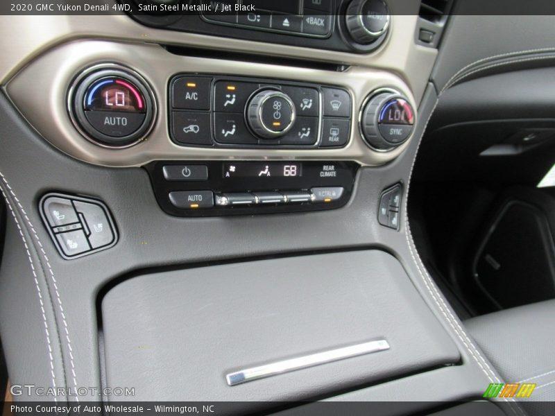 Satin Steel Metallic / Jet Black 2020 GMC Yukon Denali 4WD