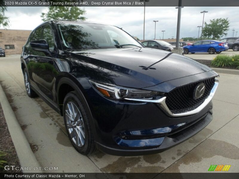 Deep Crystal Blue Mica / Black 2020 Mazda CX-5 Grand Touring Reserve AWD
