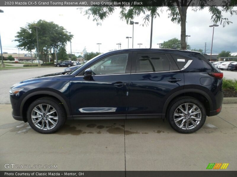 2020 CX-5 Grand Touring Reserve AWD Deep Crystal Blue Mica