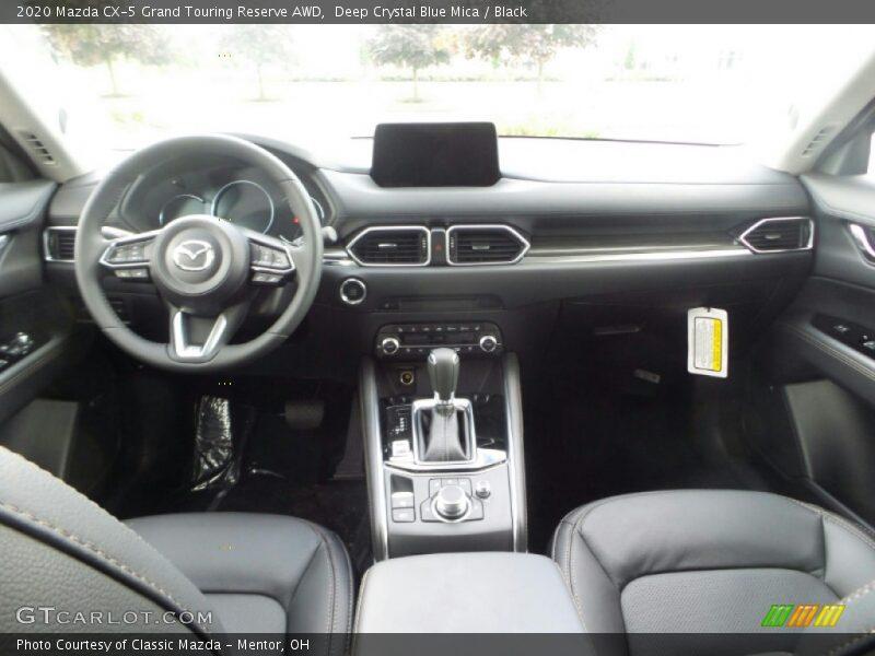2020 CX-5 Grand Touring Reserve AWD Black Interior