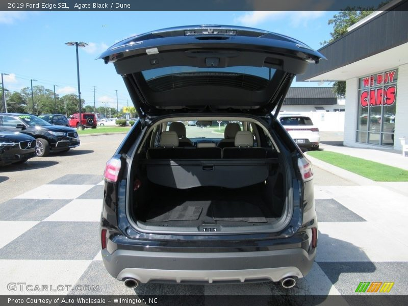 Agate Black / Dune 2019 Ford Edge SEL