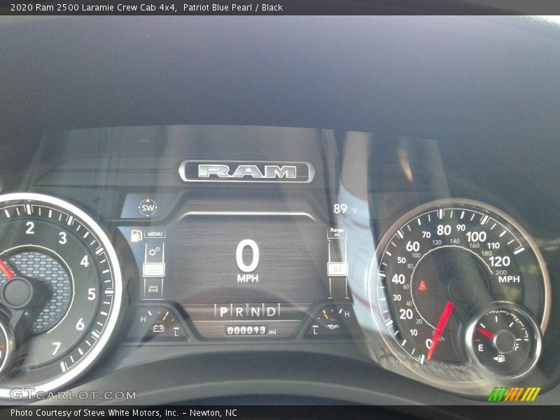 Patriot Blue Pearl / Black 2020 Ram 2500 Laramie Crew Cab 4x4