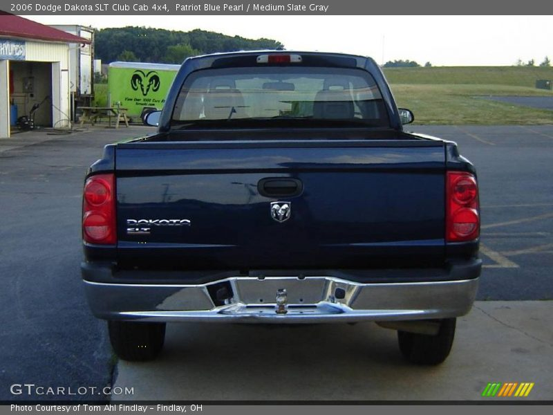 2006 dodge dakota slt club cab 4x4 in patriot blue pearl photo no 13920928. Black Bedroom Furniture Sets. Home Design Ideas
