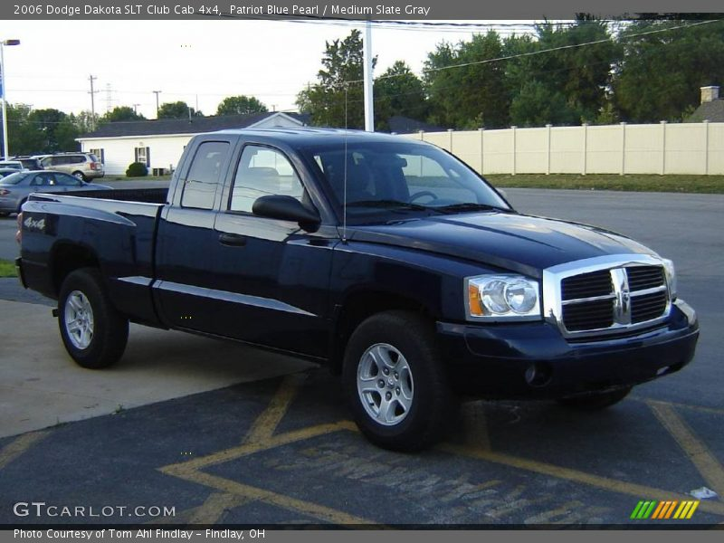 2006 dodge dakota slt club cab 4x4 in patriot blue pearl photo no 13920953. Black Bedroom Furniture Sets. Home Design Ideas