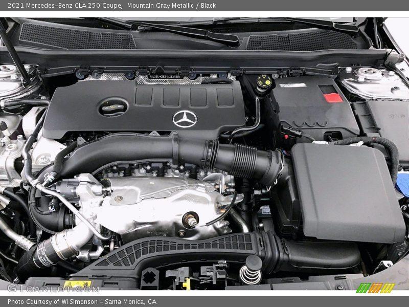 2021 CLA 250 Coupe Engine - 2.0 Liter Twin-Turbocharged DOHC 16-Valve VVT 4 Cylinder