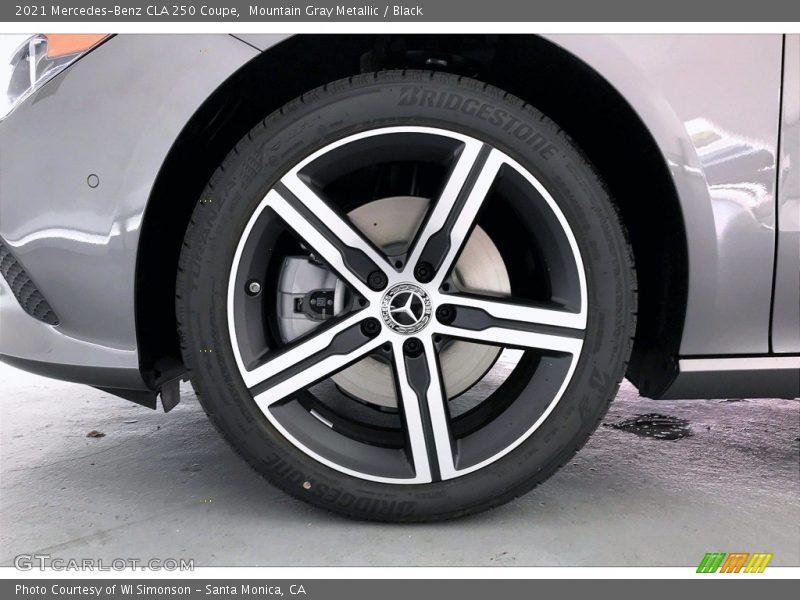 2021 CLA 250 Coupe Wheel