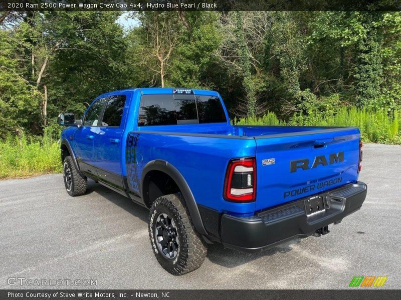 Hydro Blue Pearl / Black 2020 Ram 2500 Power Wagon Crew Cab 4x4