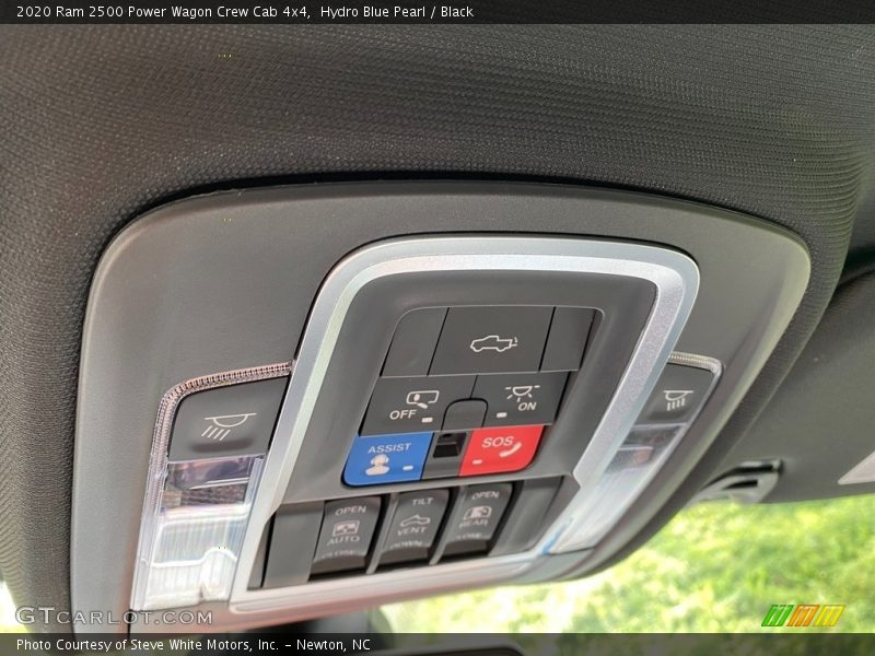 Controls of 2020 2500 Power Wagon Crew Cab 4x4