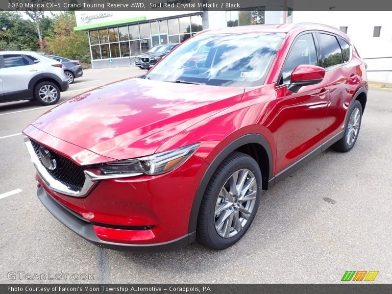Soul Red Crystal Metallic / Black 2020 Mazda CX-5 Grand Touring Reserve AWD