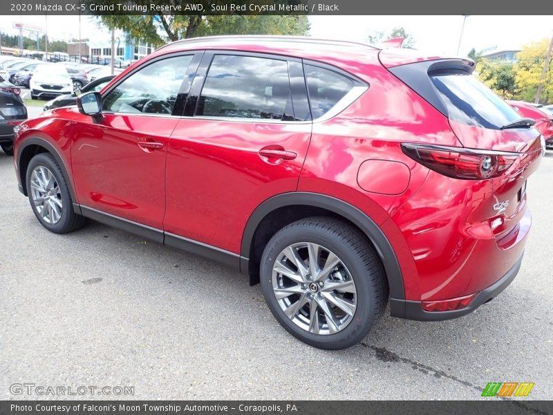 Soul Red Crystal Metallic / Black 2020 Mazda CX-5 Grand Touring Reserve AWD
