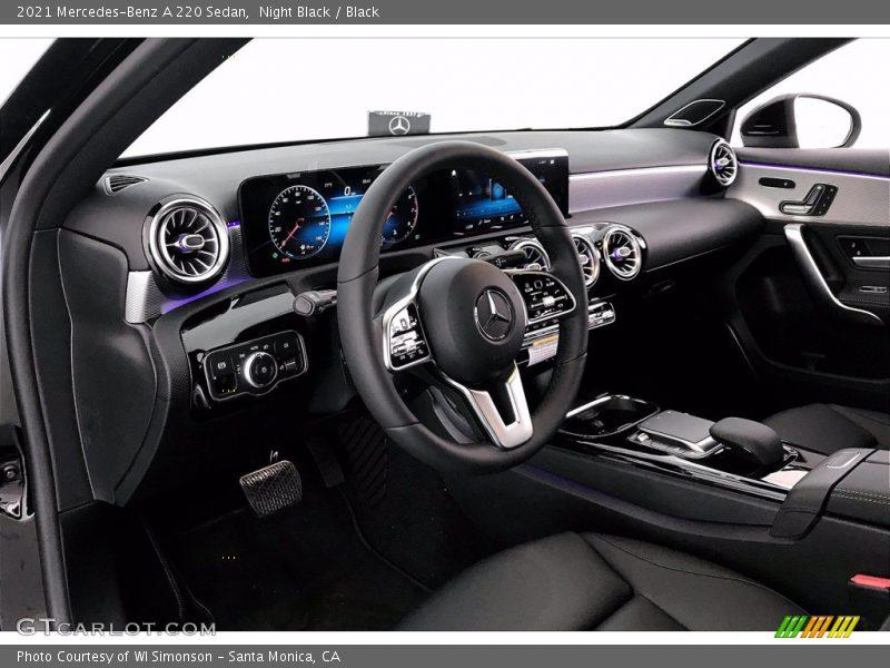 2021 A 220 Sedan Black Interior