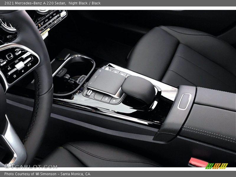 Controls of 2021 A 220 Sedan