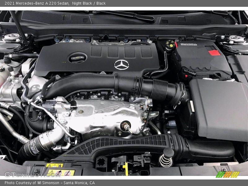 2021 A 220 Sedan Engine - 2.0 Liter Turbocharged DOHC 16-Valve VVT 4 Cylinder