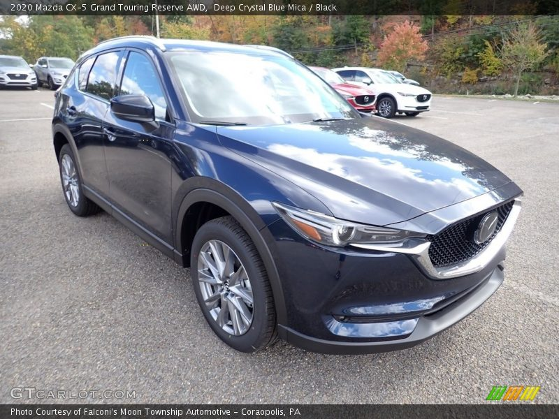 Eternal Blue Mica / Black 2020 Mazda CX-5 Grand Touring Reserve AWD