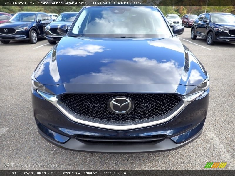 Eternal Blue Mica / Black 2020 Mazda CX-5 Grand Touring Reserve AWD
