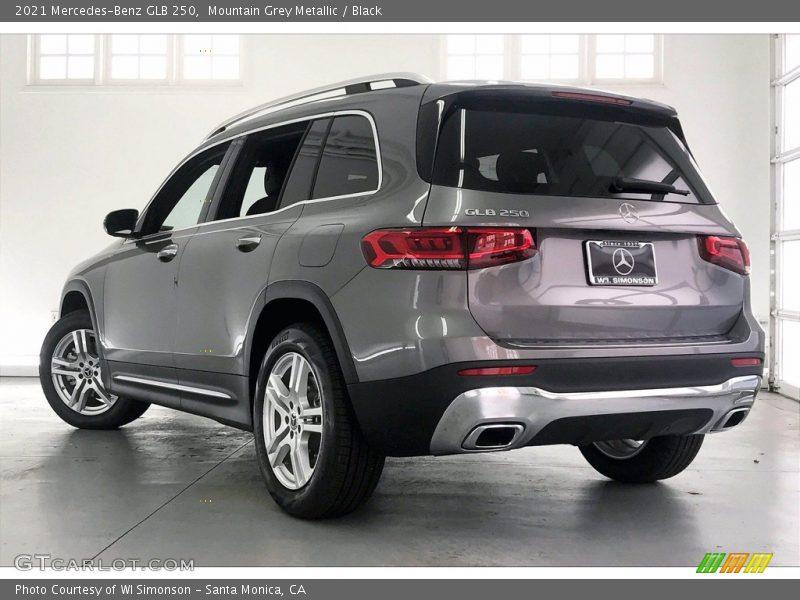2021 GLB 250 Mountain Grey Metallic