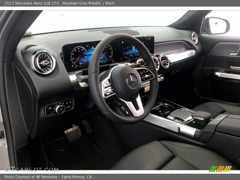 2021 GLB 250 Black Interior