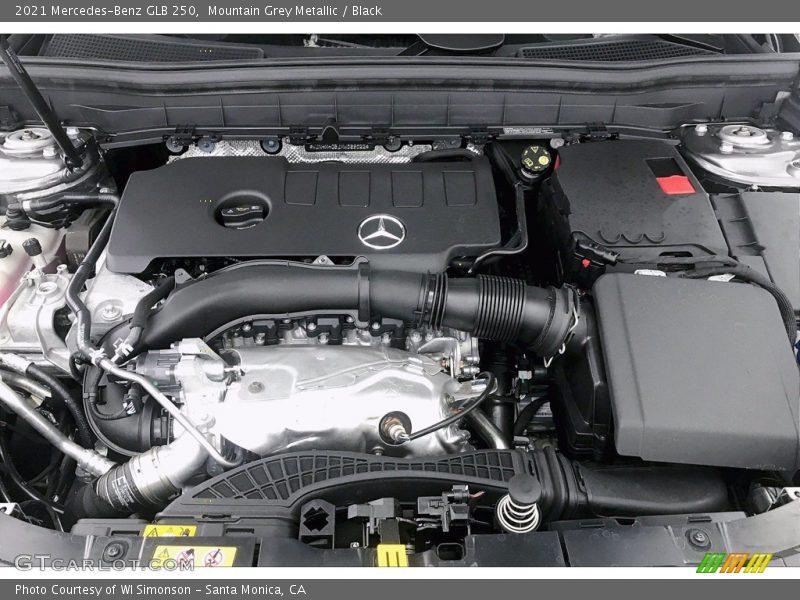 2021 GLB 250 Engine - 2.0 Liter Turbocharged DOHC 16-Valve VVT 4 Cylinder