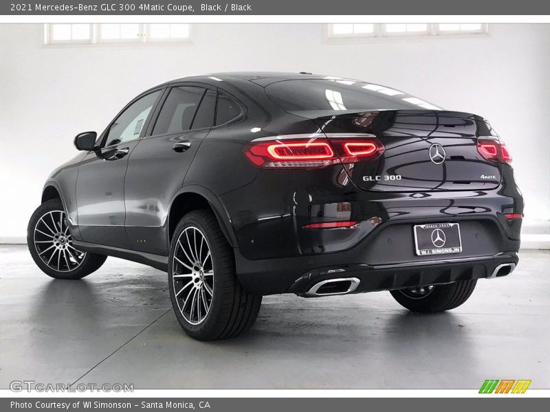 2021 GLC 300 4Matic Coupe Black