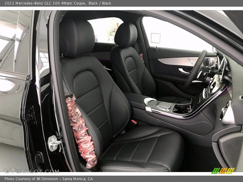 2021 GLC 300 4Matic Coupe Black Interior