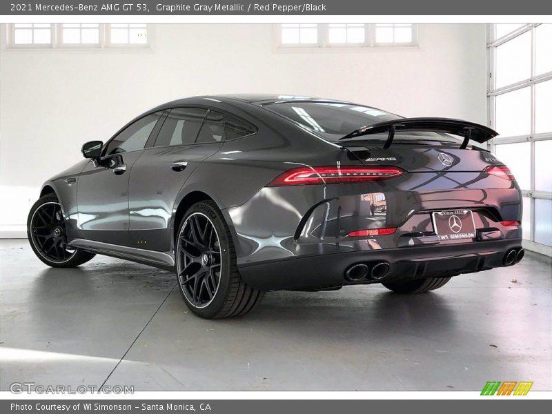 2021 AMG GT 53 Graphite Gray Metallic