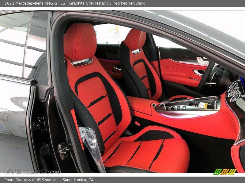 2021 AMG GT 53 Red Pepper/Black Interior