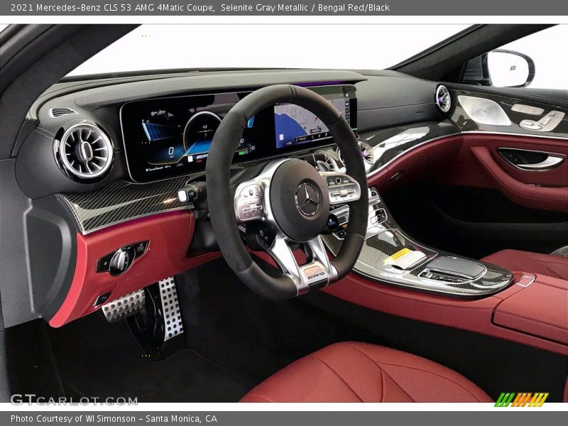2021 CLS 53 AMG 4Matic Coupe Bengal Red/Black Interior