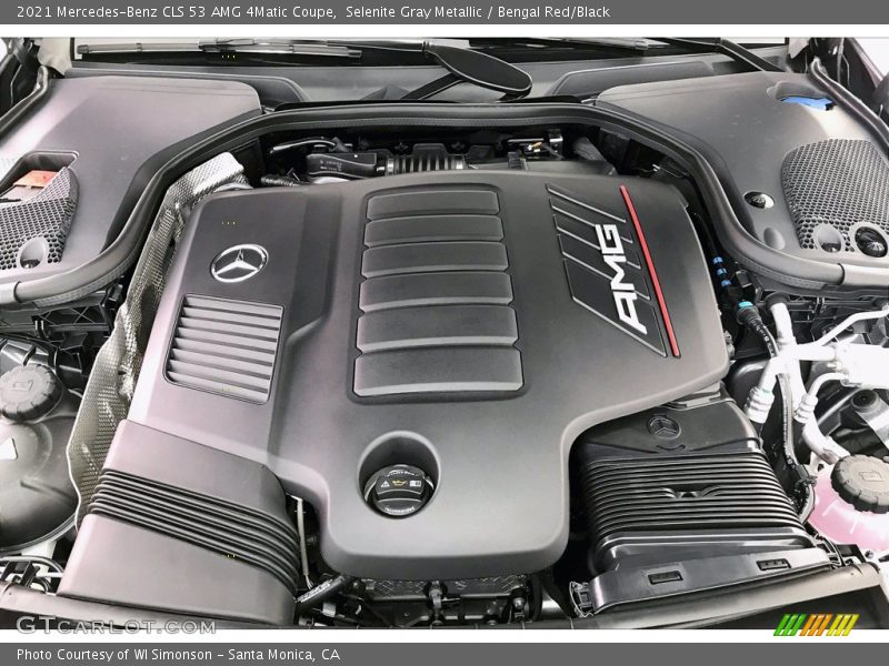 2021 CLS 53 AMG 4Matic Coupe Engine - 3.0 Liter Turbocharged DOHC 24-Valve VVT Inline 6 Cylinder w/EQ Boost