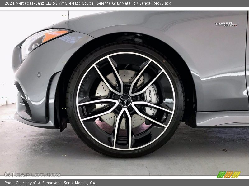 2021 CLS 53 AMG 4Matic Coupe Wheel