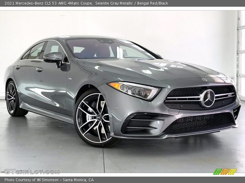 Front 3/4 View of 2021 CLS 53 AMG 4Matic Coupe