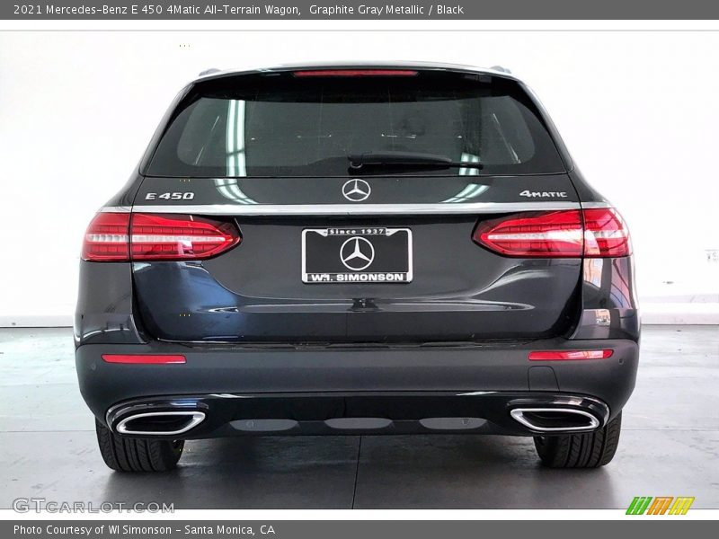 Graphite Gray Metallic / Black 2021 Mercedes-Benz E 450 4Matic All-Terrain Wagon