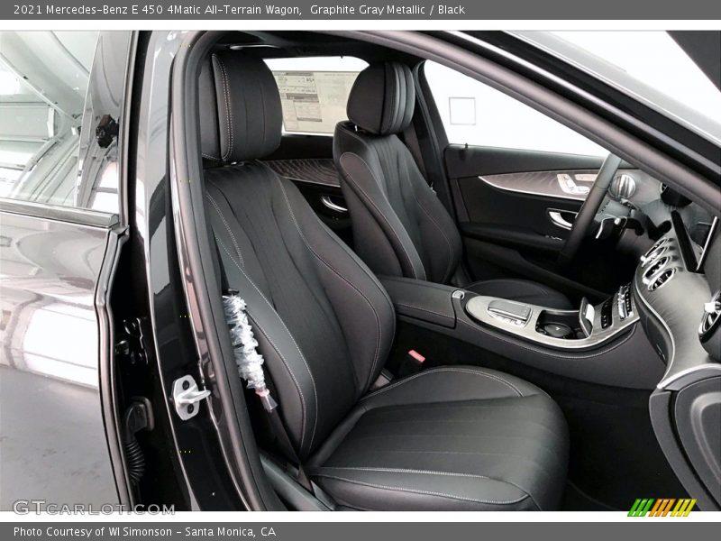 2021 E 450 4Matic All-Terrain Wagon Black Interior