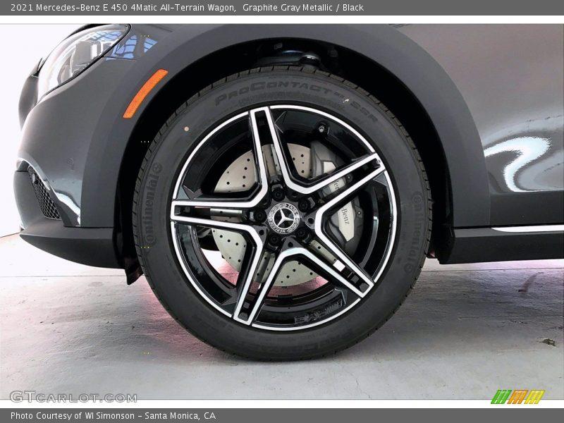 2021 E 450 4Matic All-Terrain Wagon Wheel
