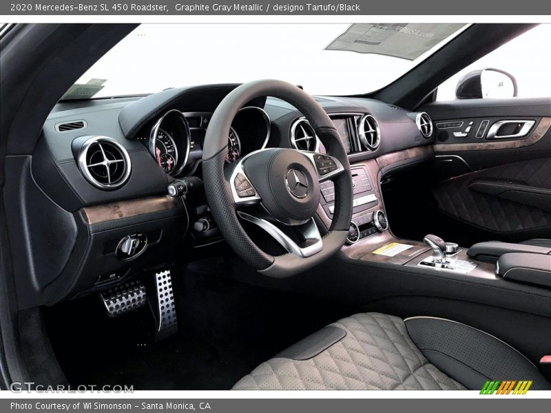 Dashboard of 2020 SL 450 Roadster